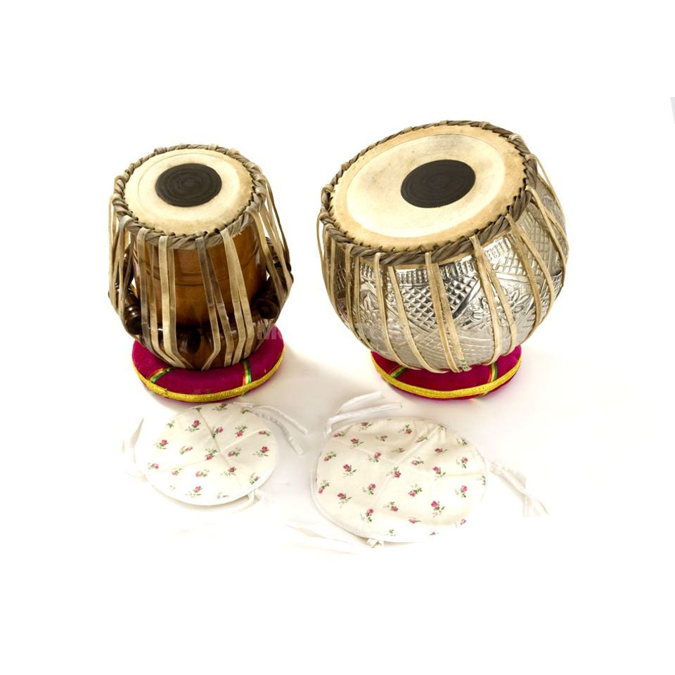 Percussion Plus PP1101 Tabla PairThong Tension incl. carry bag & Seat rings Produktbillede
