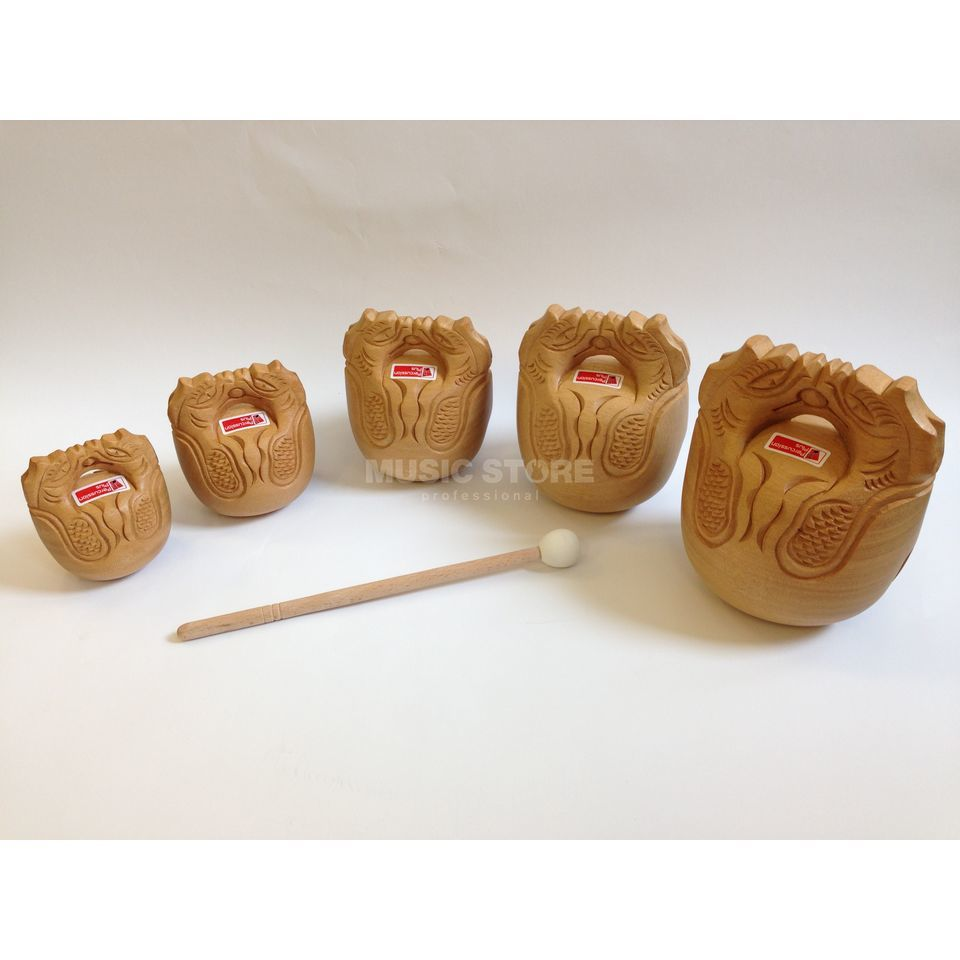 Percussion Plus PP237 Temple Blocks, Set of 5 Produktbild