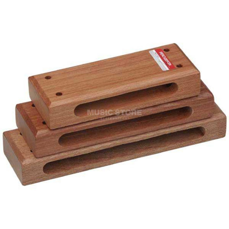 Percussion Plus PP263 Wood Blocks, Set of 3 Produktbillede