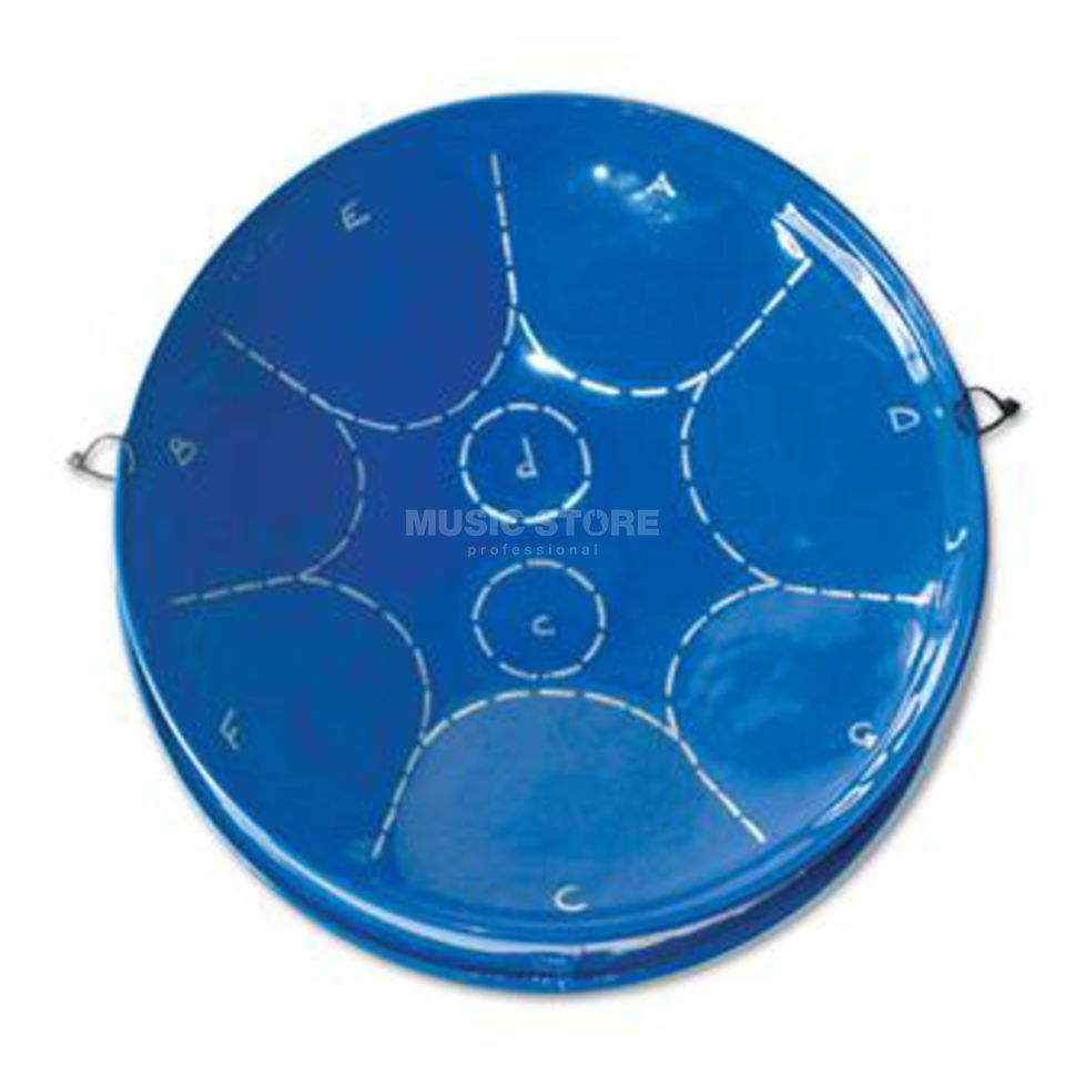 Percussion Plus PP451 Piti Steel Pan, Blue Produktbillede