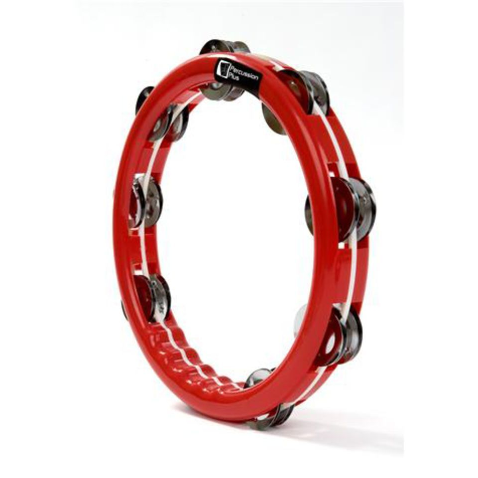 Percussion Plus PP465 Red Ring Tambourine  Produktbillede