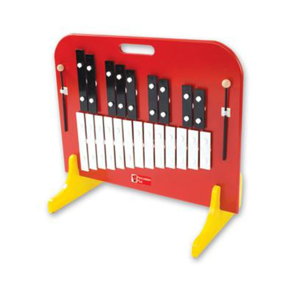 Percussion Plus PP744 Wide bar Glockenspiel, voll chromatisch, C52-A73, Product Image