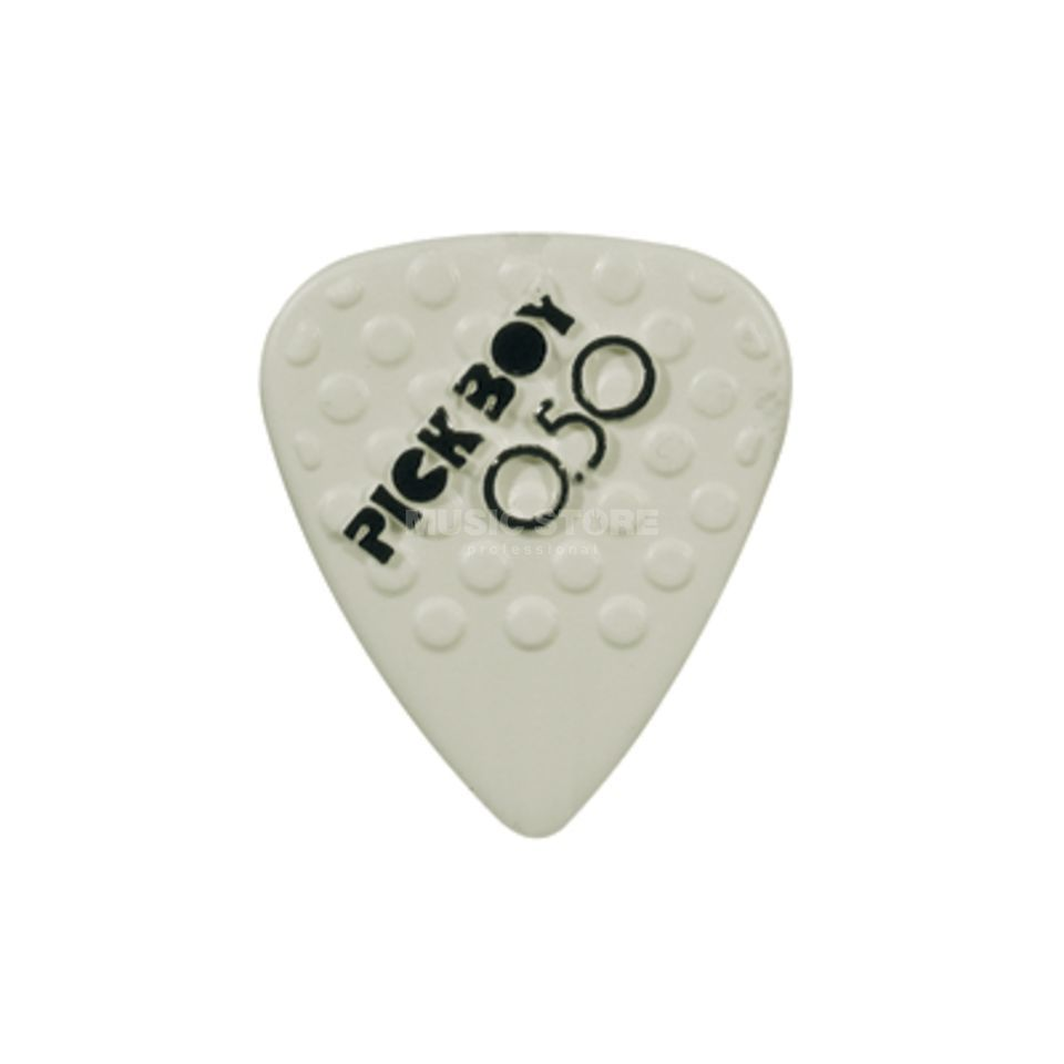 Pickboy Plektrum Ceramic 0,50 mm 12er-Set, Mega Grip Picks Produktbild