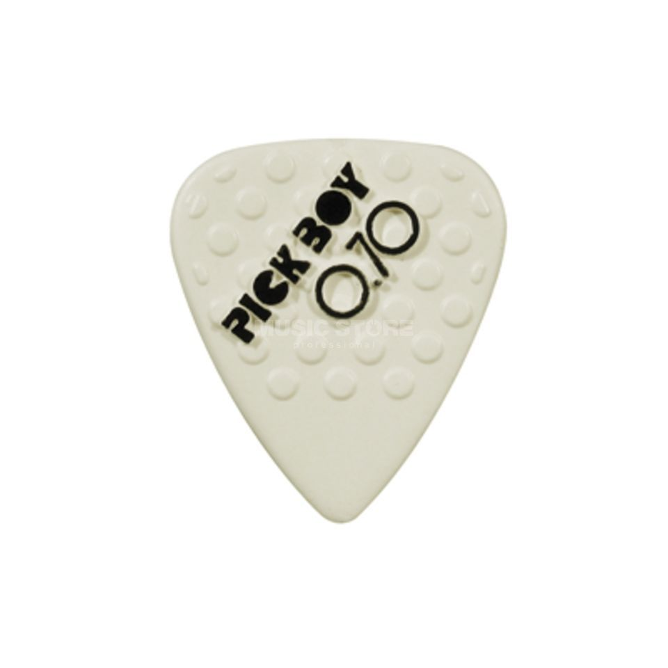Pickboy Plektrum Ceramic 0,70 mm 12er-Set, Mega Grip Picks Produktbild