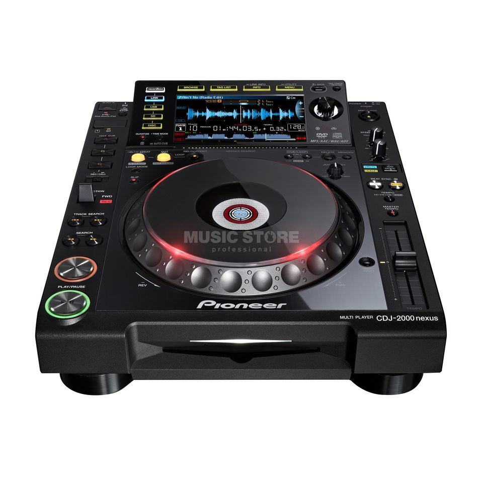 Pioneer CDJ-2000nexus Professional Multi Player Produktbillede