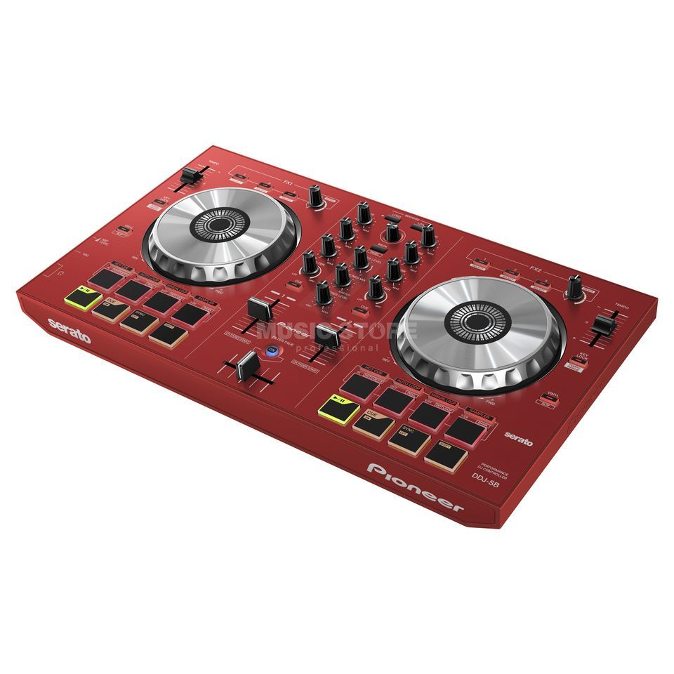 Pioneer DDJ-SB-R red incl. Serato DJ Intro Product Image