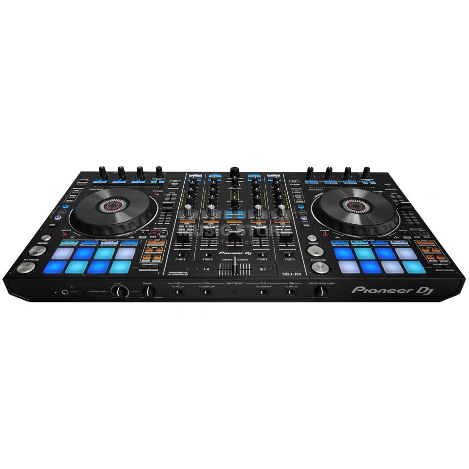 pioneer dj ddj rx rekordbox dj controller dv247 en gb. Black Bedroom Furniture Sets. Home Design Ideas