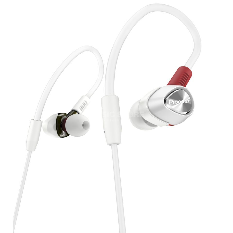 Pioneer DJ DJE-2000-W In-Ear Headphones for DJs Produktbillede