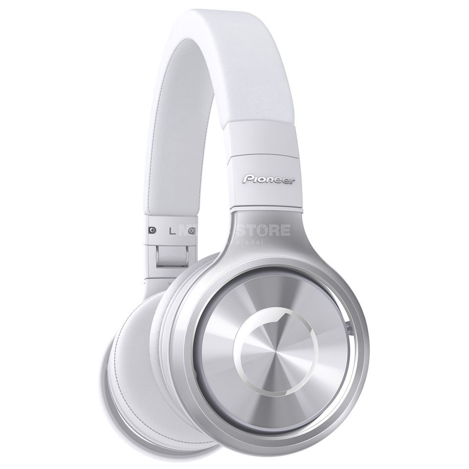 Pioneer DJ SE-MX8-S Silver/White Product Image