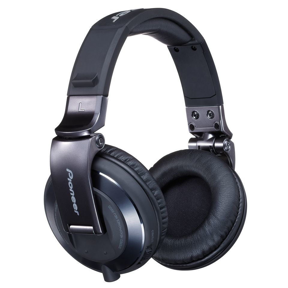 Pioneer HDJ-2000-K High-End DJ Headphones, Black Immagine prodotto