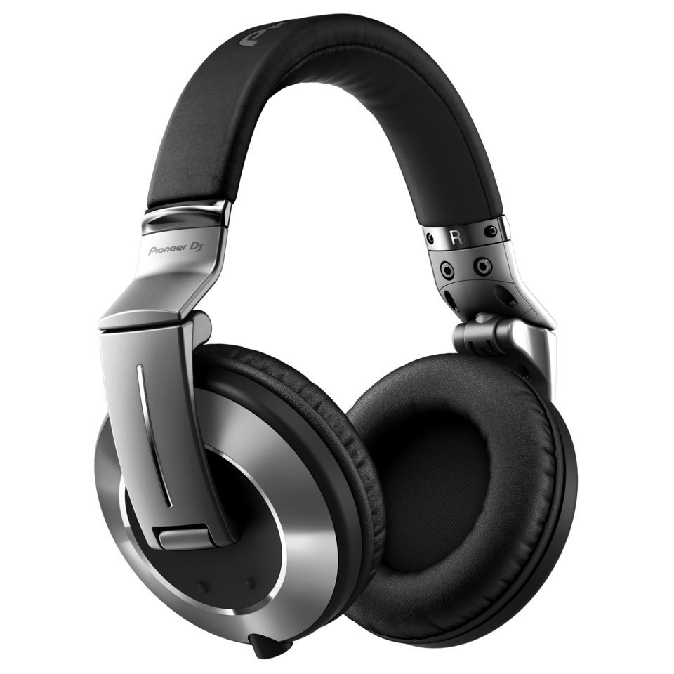 Pioneer HDJ-2000MK2-S High-End DJ Headphones, silber Produktbillede