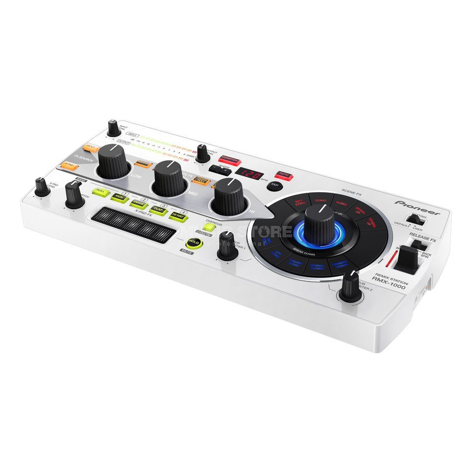 Pioneer RMX-1000-W Remix Station, White Product Image