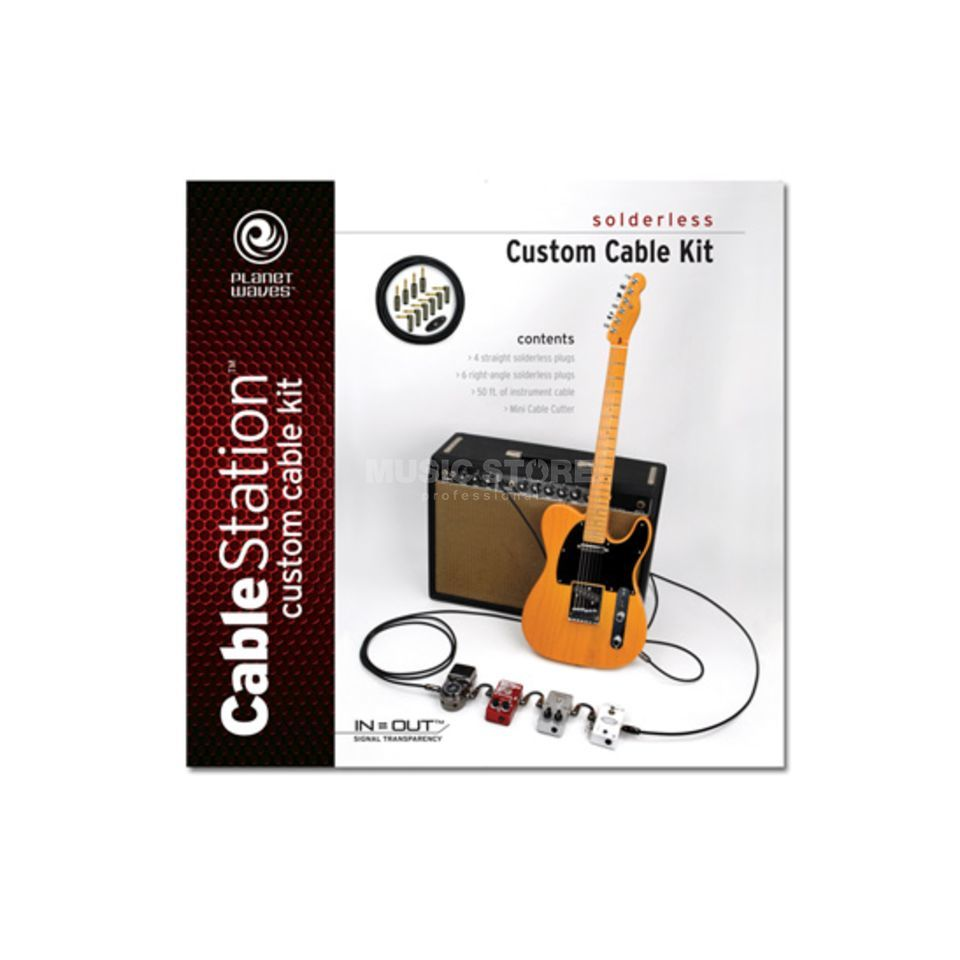 Planet Waves Custom Instrument Cable Kit  Produktbillede