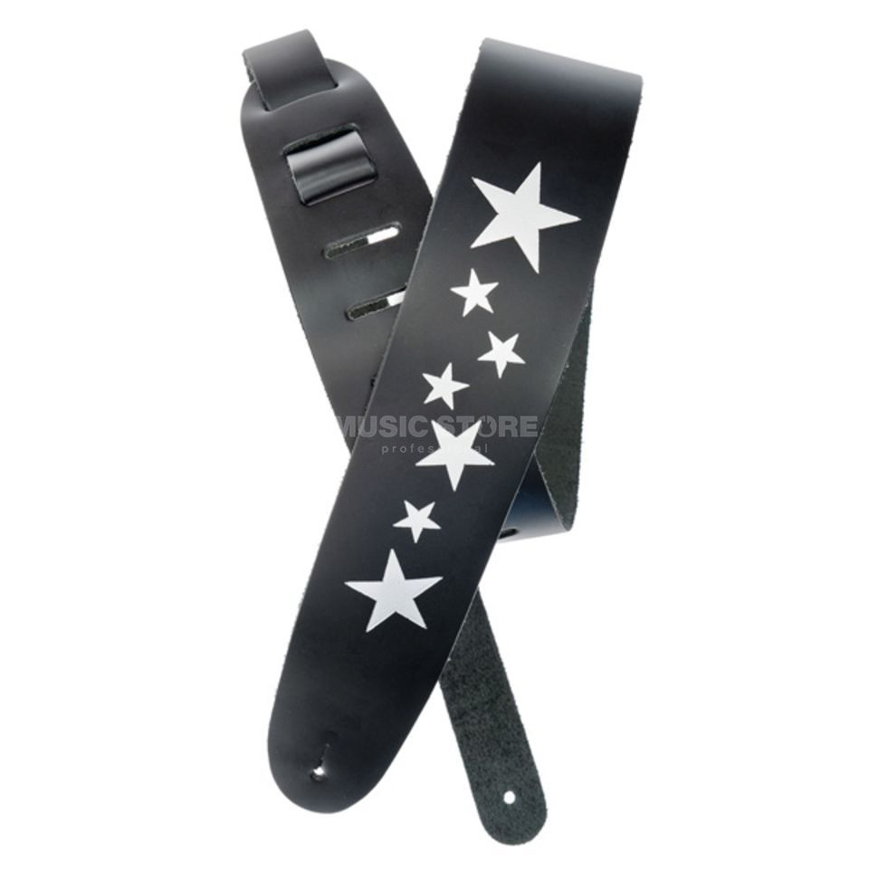 Planet Waves Gitarrengurt 25L-STRS Stars Icon Leather Collection Produktbild