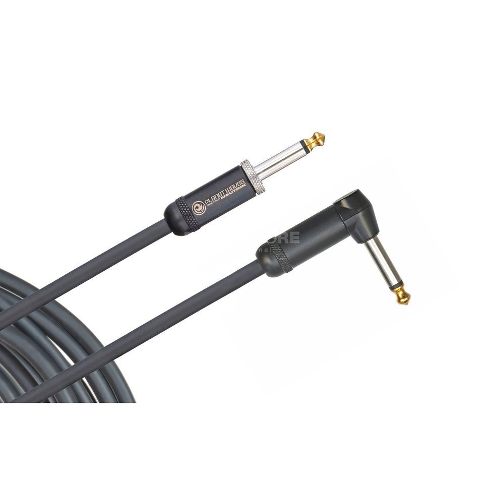 Planet Waves PW-AMSGRA-20 American Stage 6m 1x angled - Instrument Cable Produktbillede