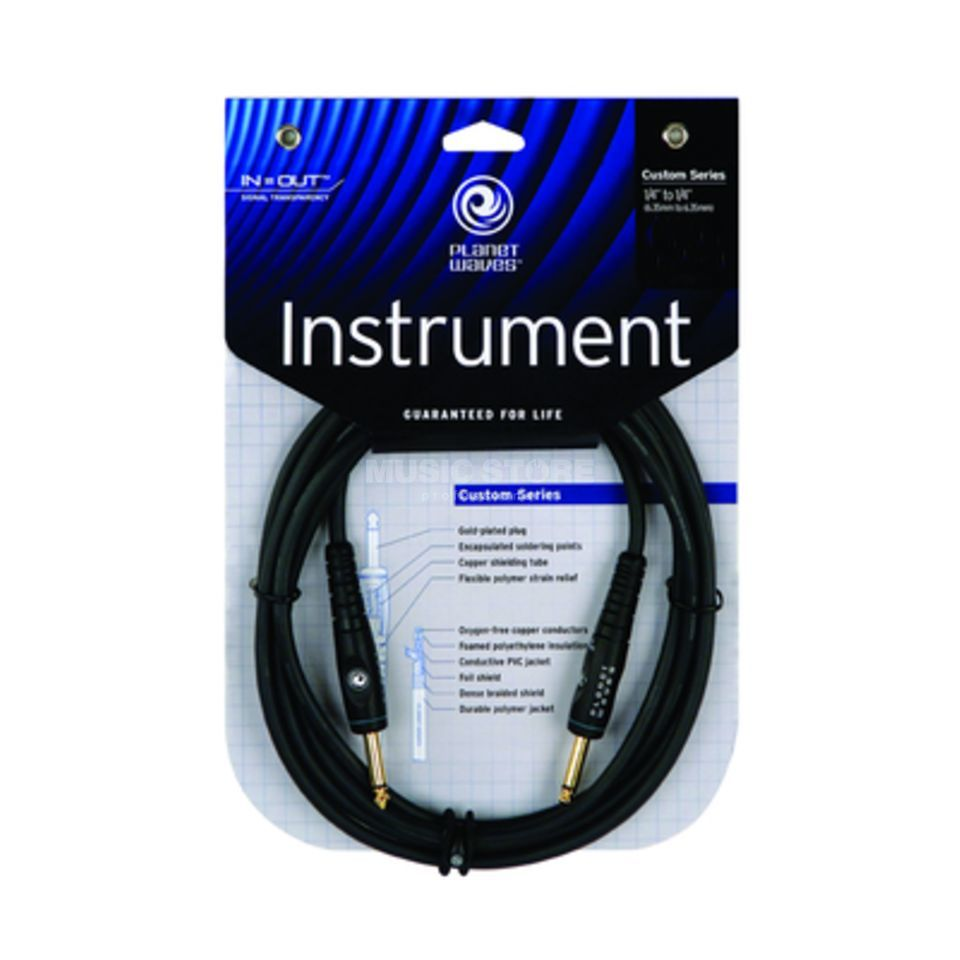 Planet Waves PW-G-15 Instrumentenkabl 4,5m Custom Produktbild