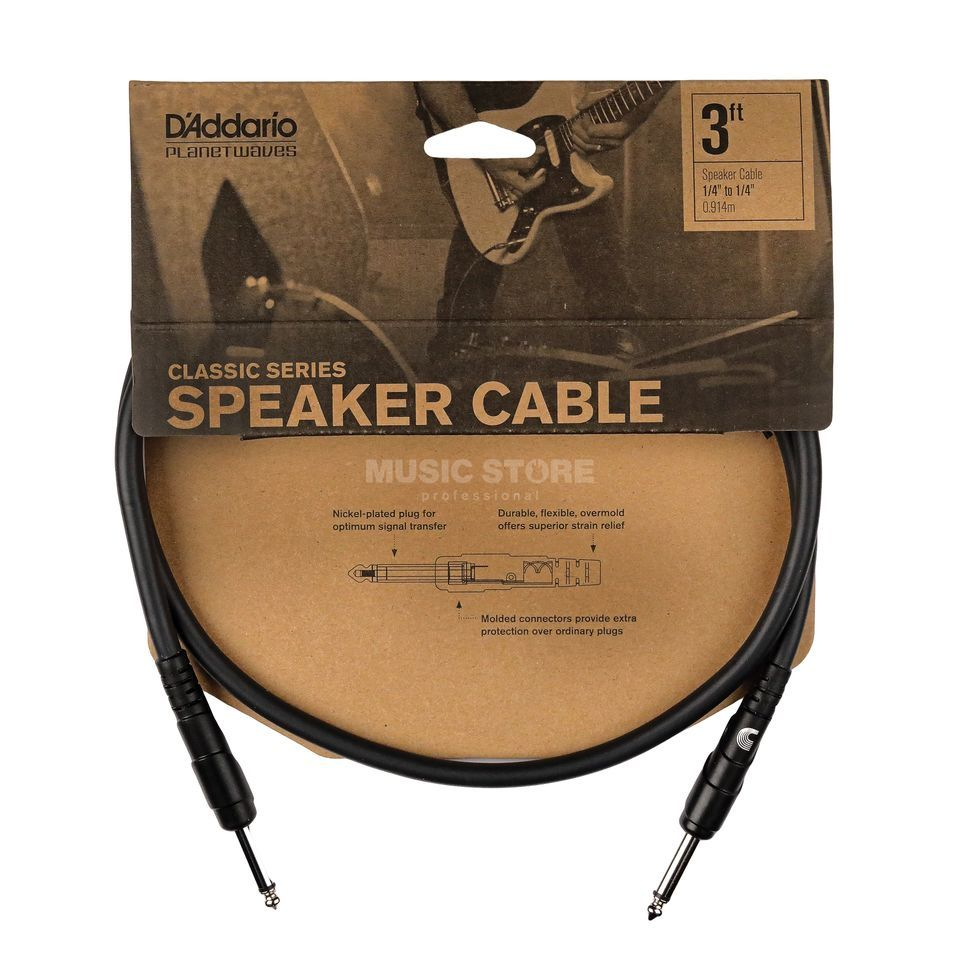 Planet Waves Speaker Cable 1,5m PW-CSPK-05 Produktbillede