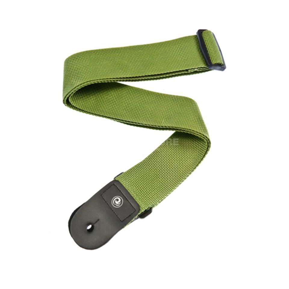 Planet Waves Woven Guitar Strap, Green    Produktbillede