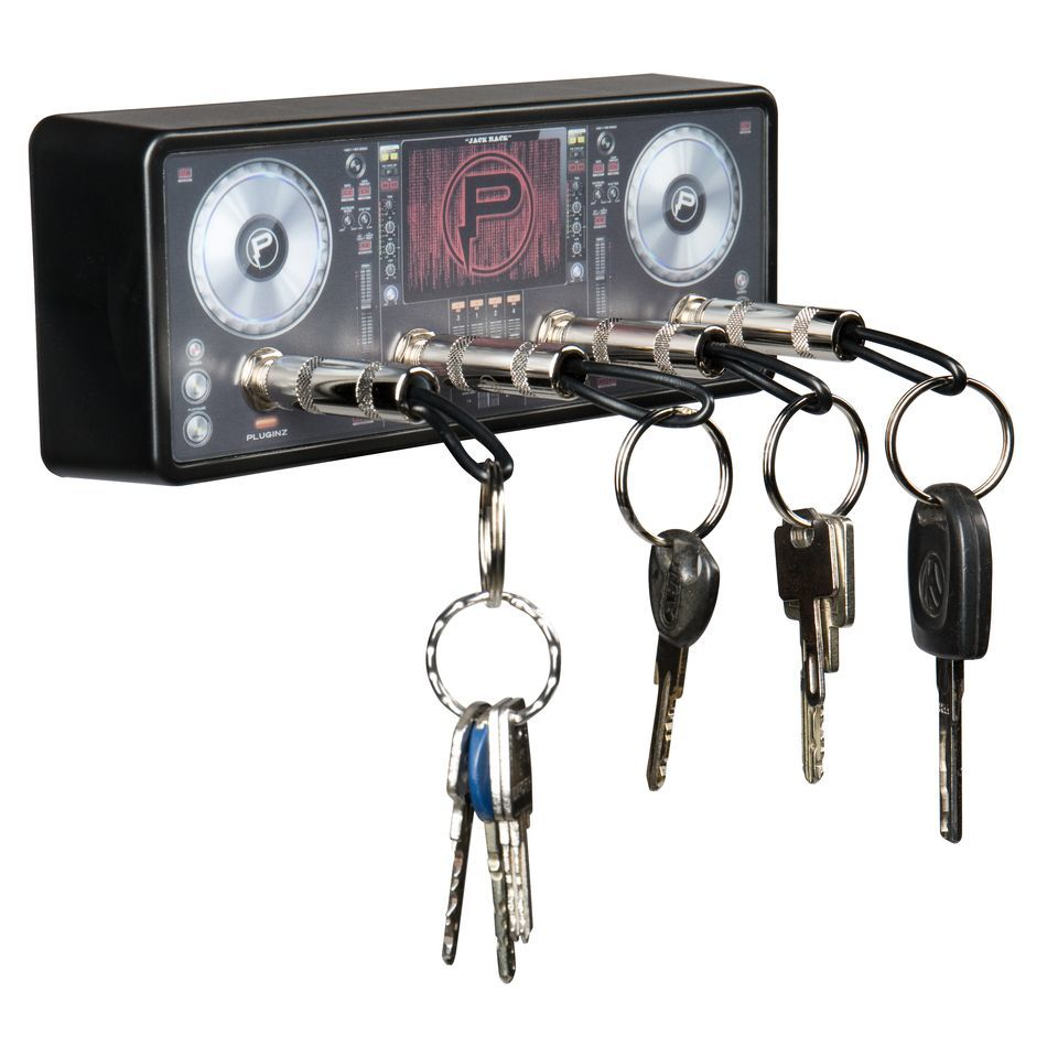 Pluginz Key Chains Keyholder DJ Jack Rack Product Image