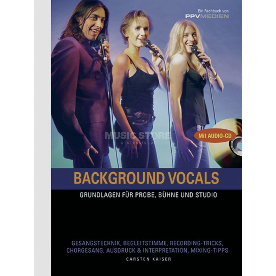 PPV Medien Background Vocals C. Kaiser,inkl. CD Produktbild