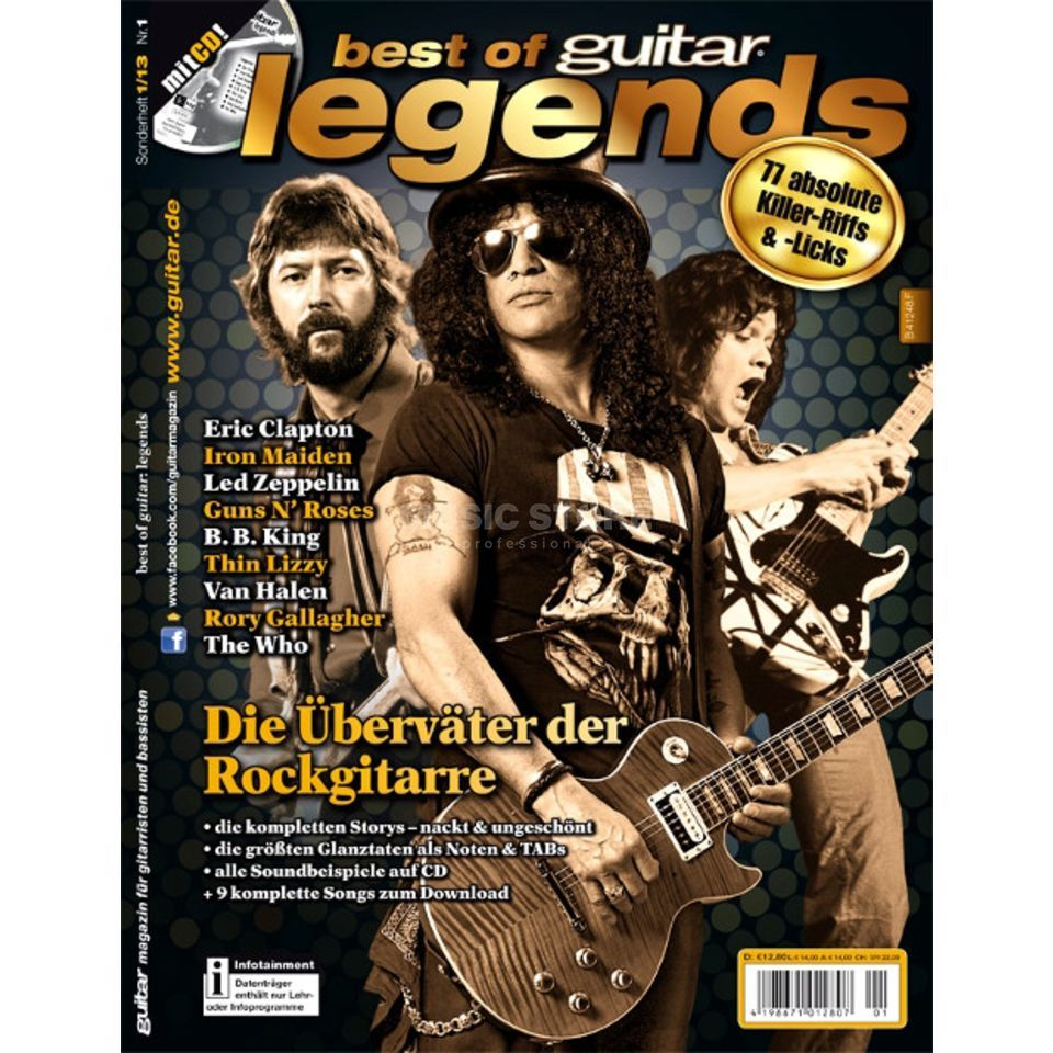 PPV Medien Best of Guitar: Legends Produktbild