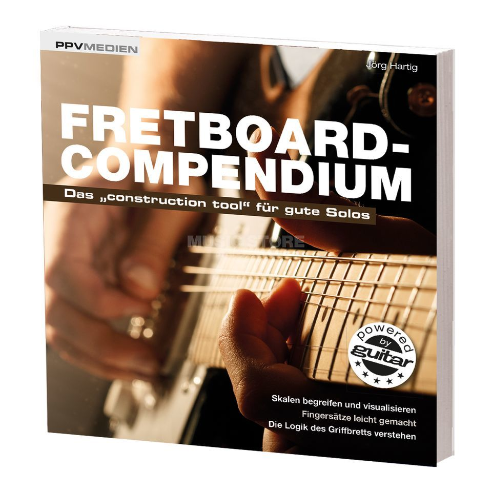 PPV Medien Fretboard-Compendium - Das construction tool für gute Solos Product Image