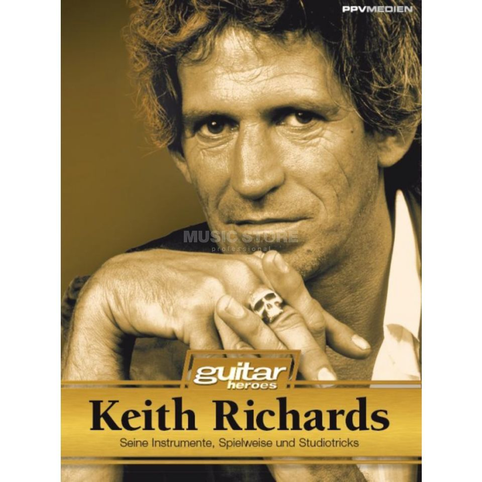 PPV Medien guitar heroes - Keith Richards Thieleke Produktbild
