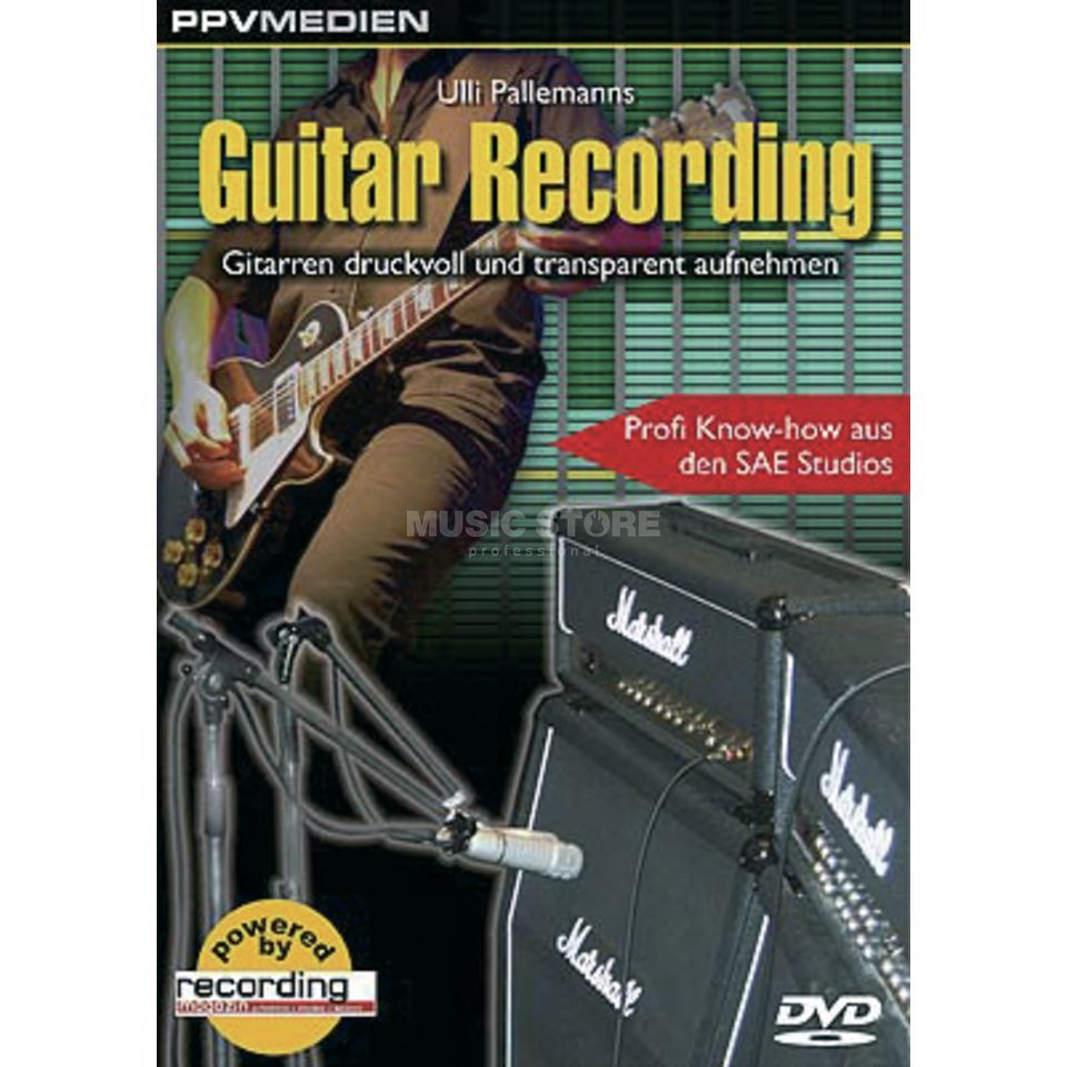 PPV Medien Guitar Recording DVD, Ulli Pallemanns Product Image