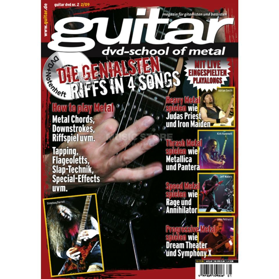 PPV Medien guitar Vol 2 - School of Metal DVD, Victor Smolski Produktbild