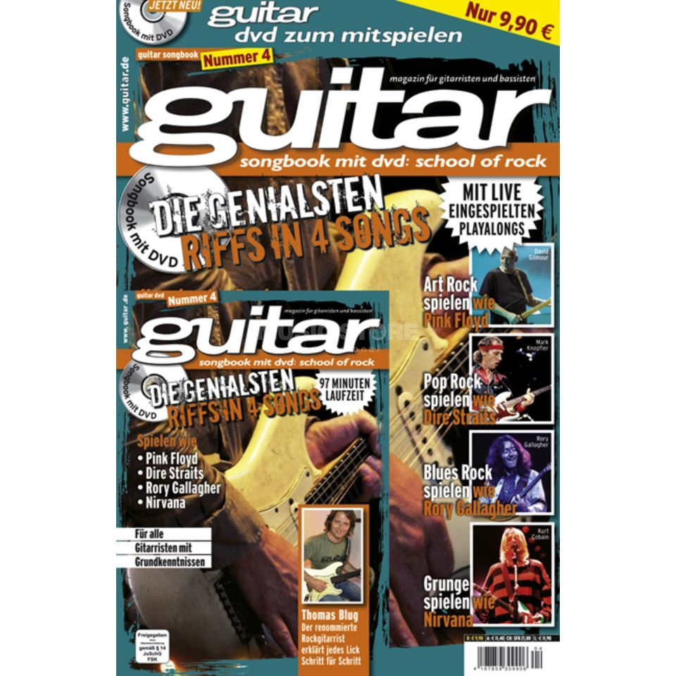PPV Medien guitar Vol 4 - School of Rock DVD, Thomas Blug Produktbild