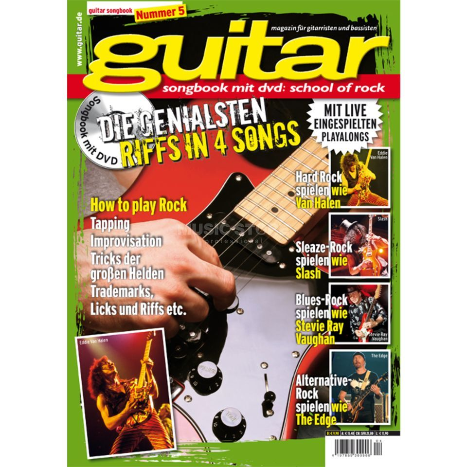 PPV Medien guitar Vol 5 - School of Rock DVD, Thomas Blug Produktbillede
