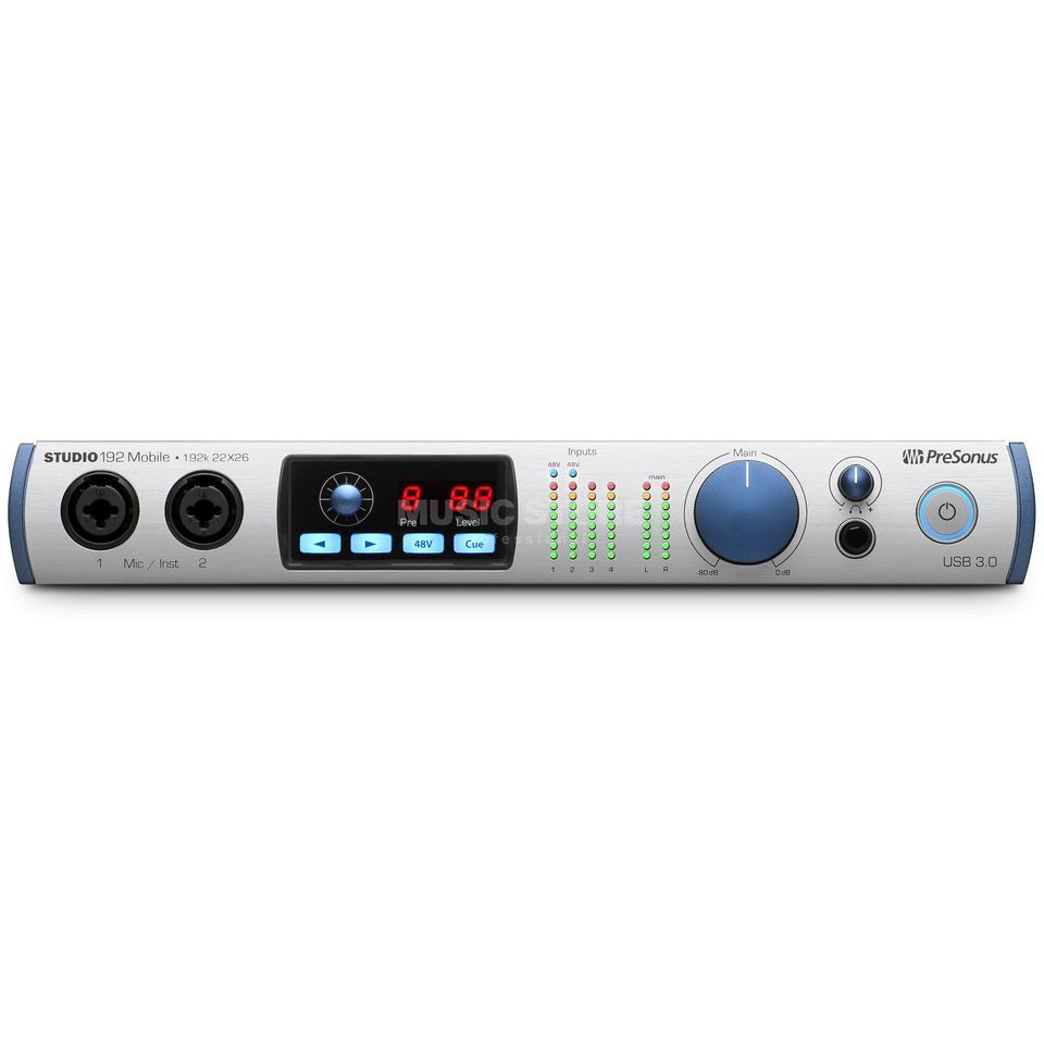 Presonus Studio 192 Mobile USB 3 Audio-Interface Produktbillede