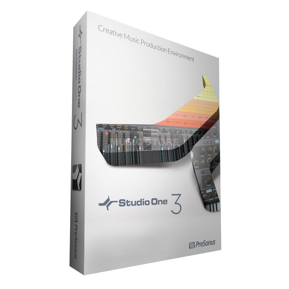 Presonus Studio One 3 PRO BOX Boxed Version Produktbild