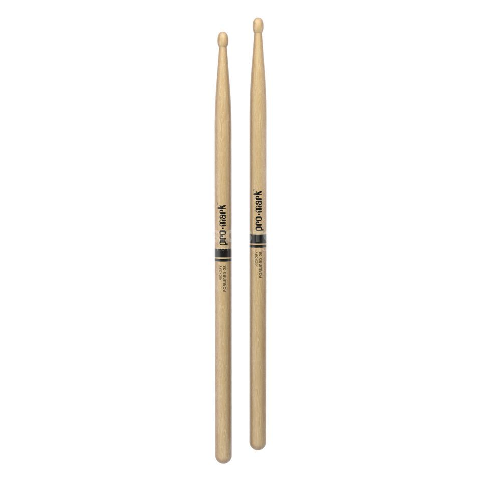 PRO-MARK TX2BW Sticks Hickory, Wood Tip Produktbillede