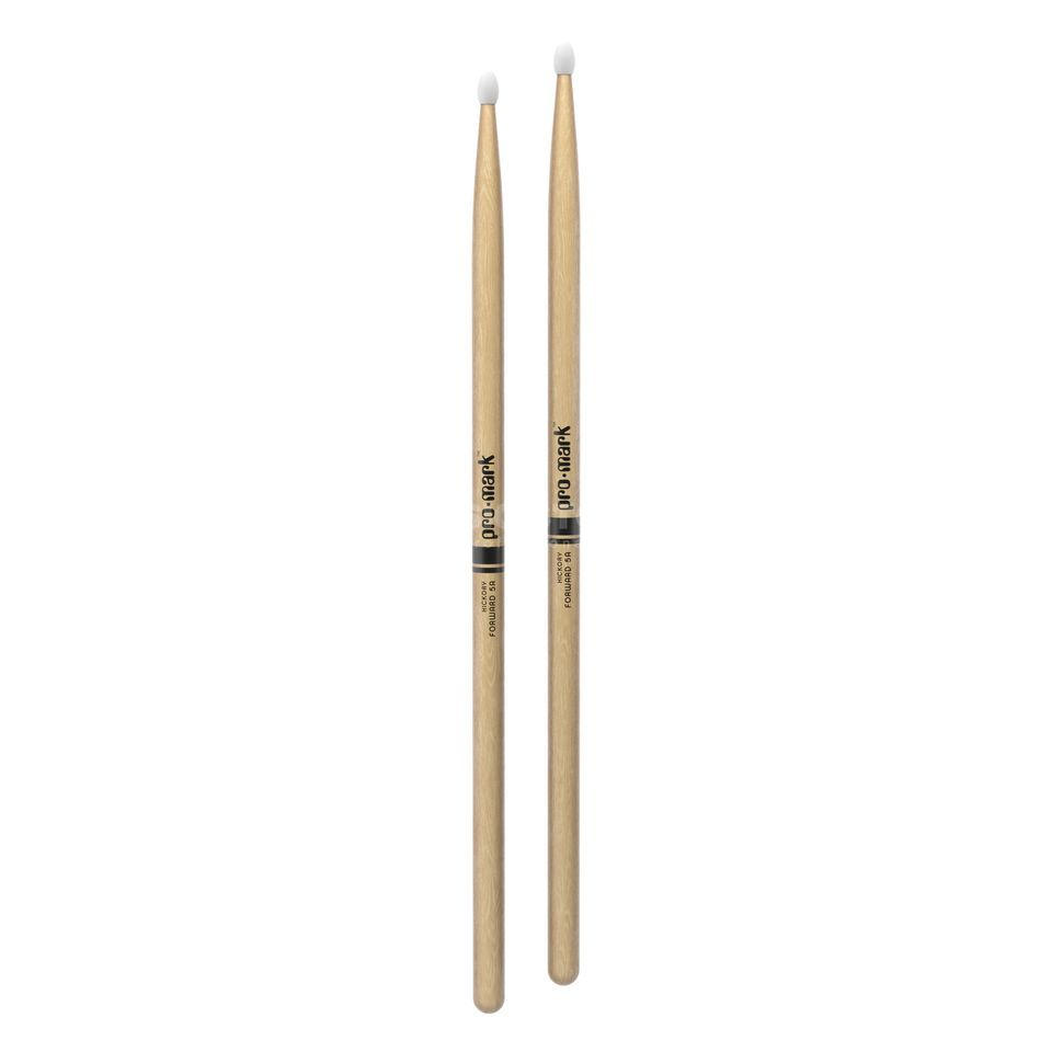 PRO-MARK TX5AN Sticks Hickory, Nylon Tip Productafbeelding