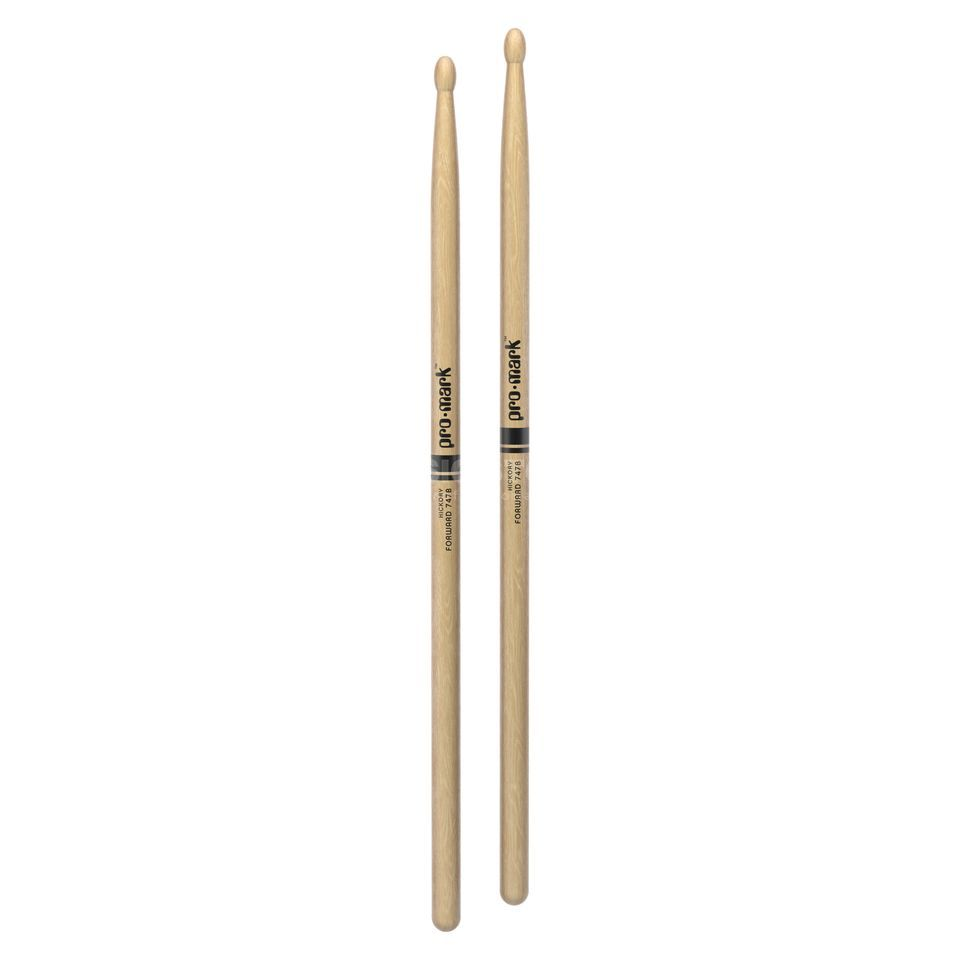 PRO-MARK TX747BW Super Rock Sticks Hickory, Wood Tip Produktbillede