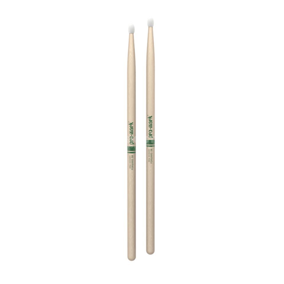 PRO-MARK TXR5BN Sticks Natural American Hickory, Nylon Tip Produktbillede