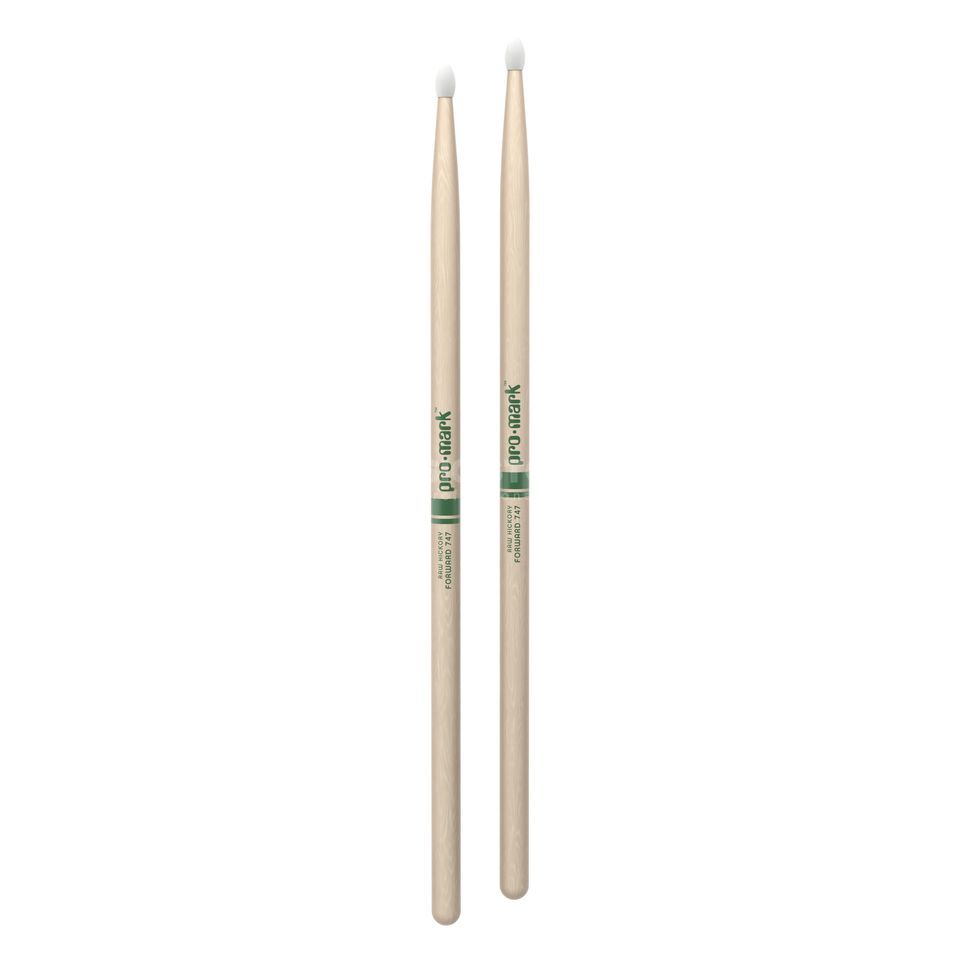 PRO-MARK TXR747N Rock Sticks Natural American Hickory, Nylon Tip Produktbild