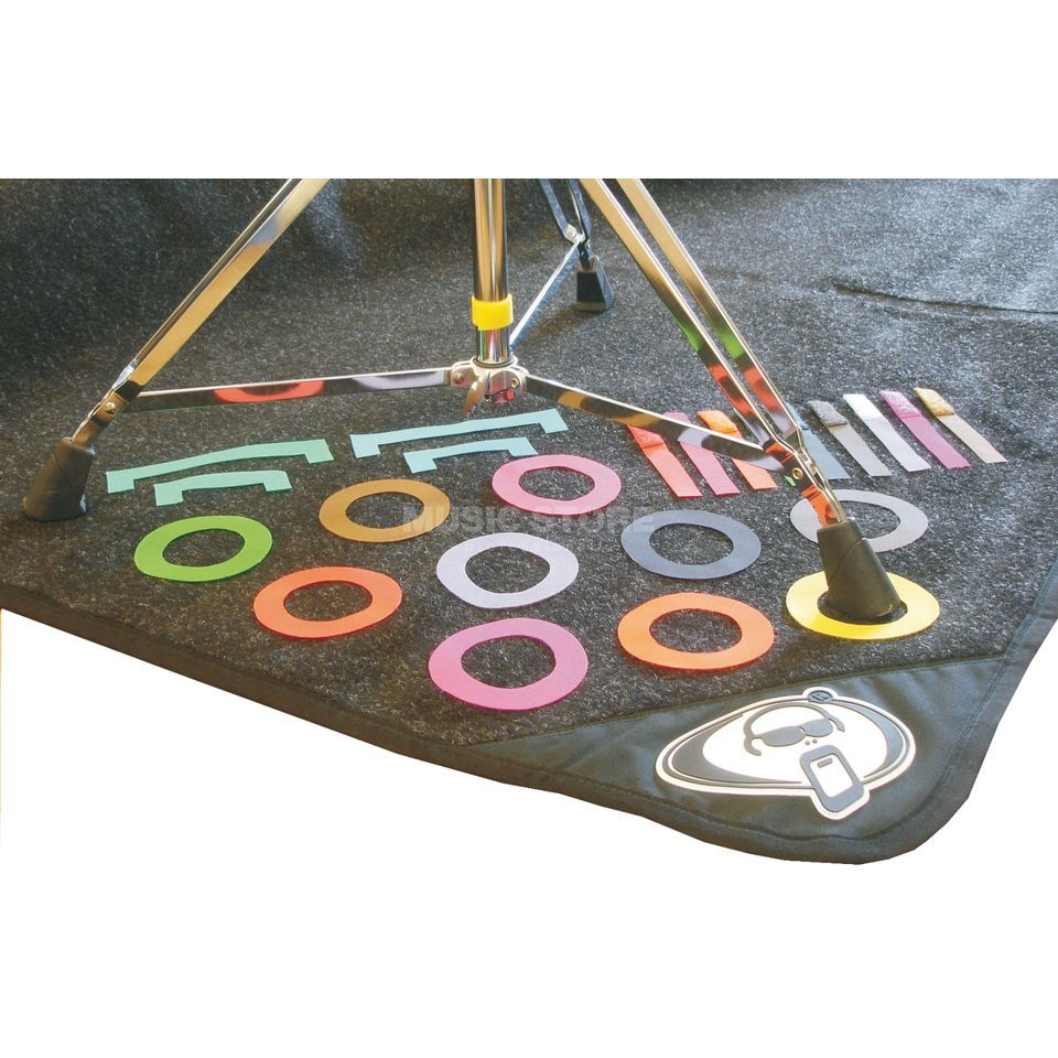 Protection Racket Marker for Drum Rug, multi colour Product Image