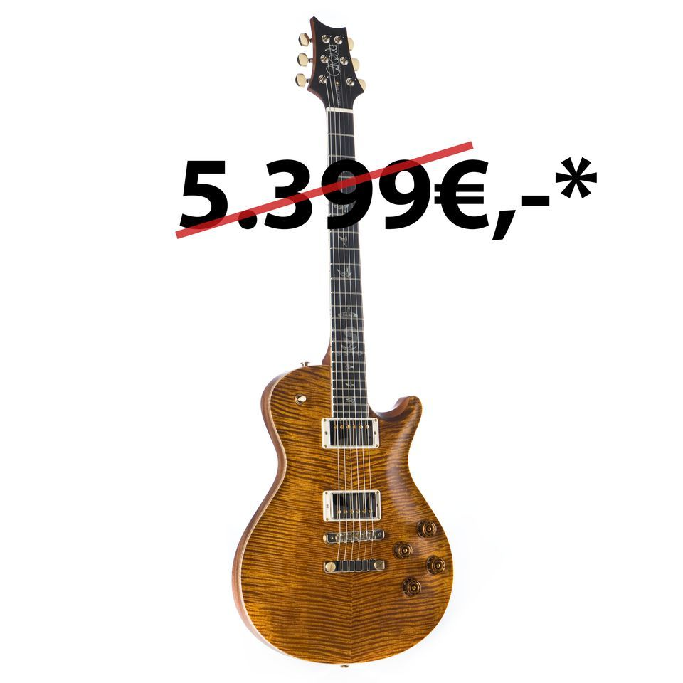 PRS Wood Library McCarty Singlecut 594 Black Goldburst Satin #18 248809 Product Image