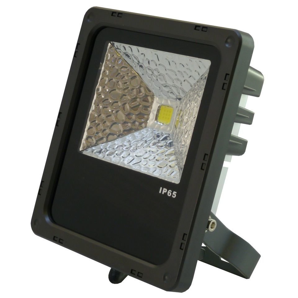 PTL LED Flood PRO 10W cold white IP 65, 10W COB LED, 120° Produktbillede