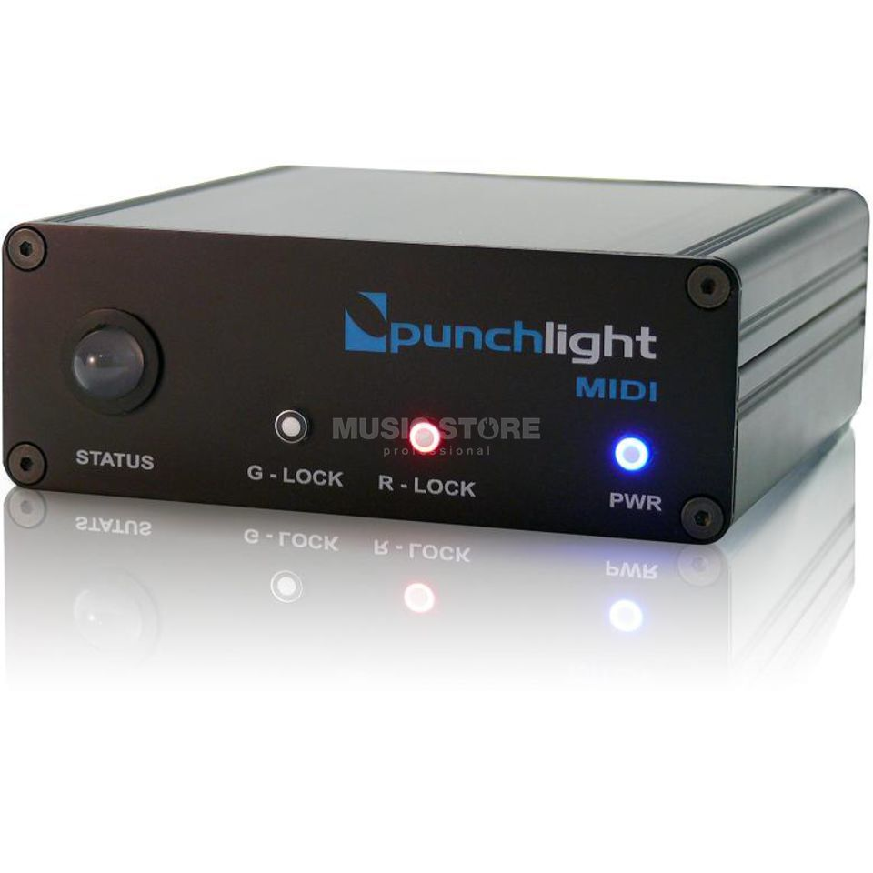 Punchlight MIDI Distributor for to to 3 Bulbs Produktbillede
