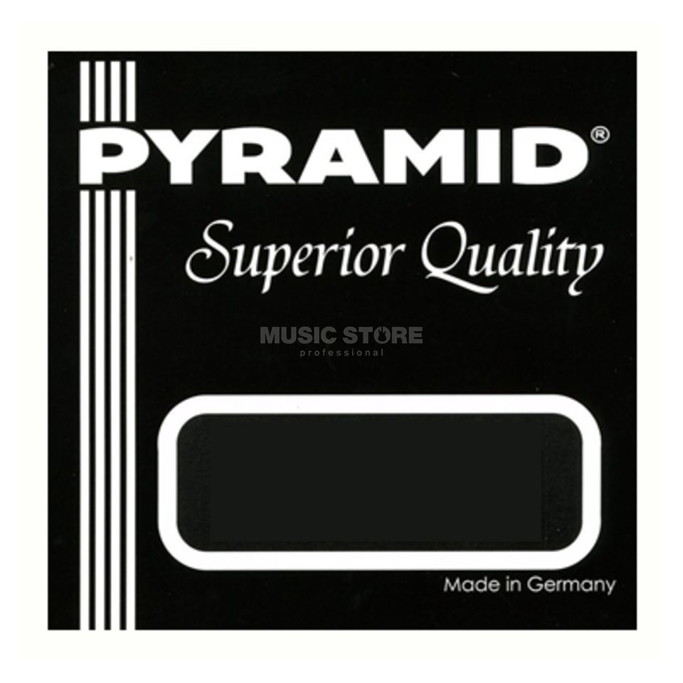Pyramid U-Bass Superior Quality SUB Silver Plated Copper on Nylon Image du produit
