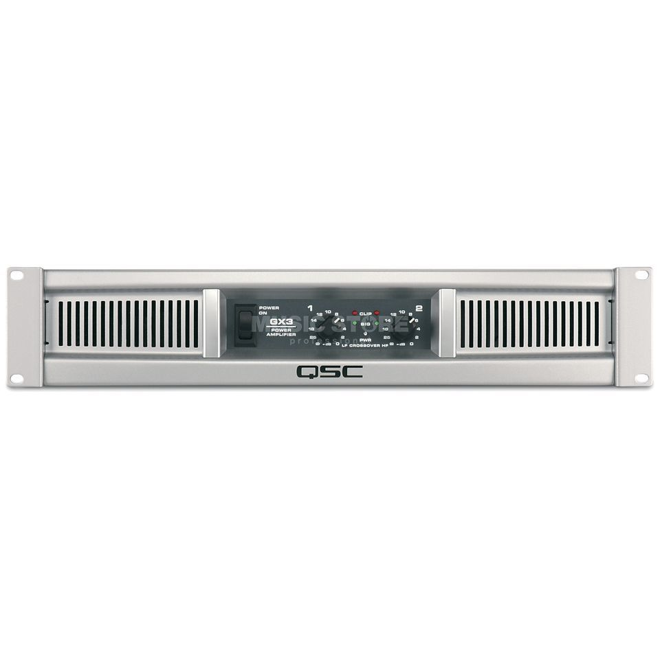 QSC GX3 Professional Stereo Power Amplifier Produktbillede