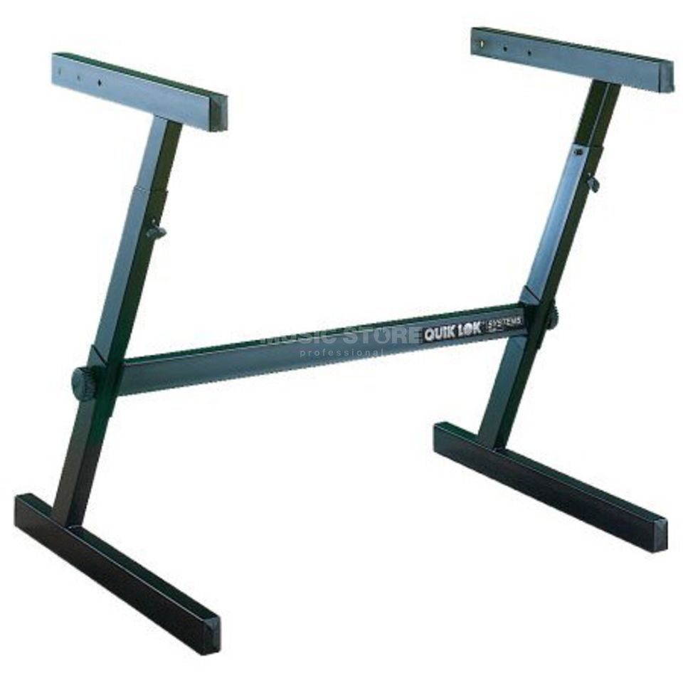 Quik Lok Z-716 Single Tier Height Adjustable Z-Frame Keyb.-Stand Produktbillede
