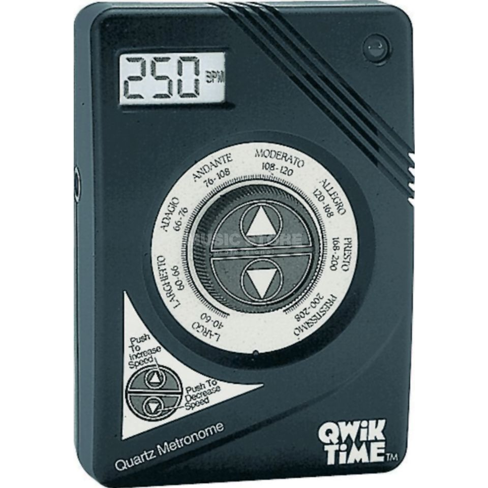 Qwik Tune/Time Metronome QT 3  40-208 BPM in 1 BPM Steps Produktbillede