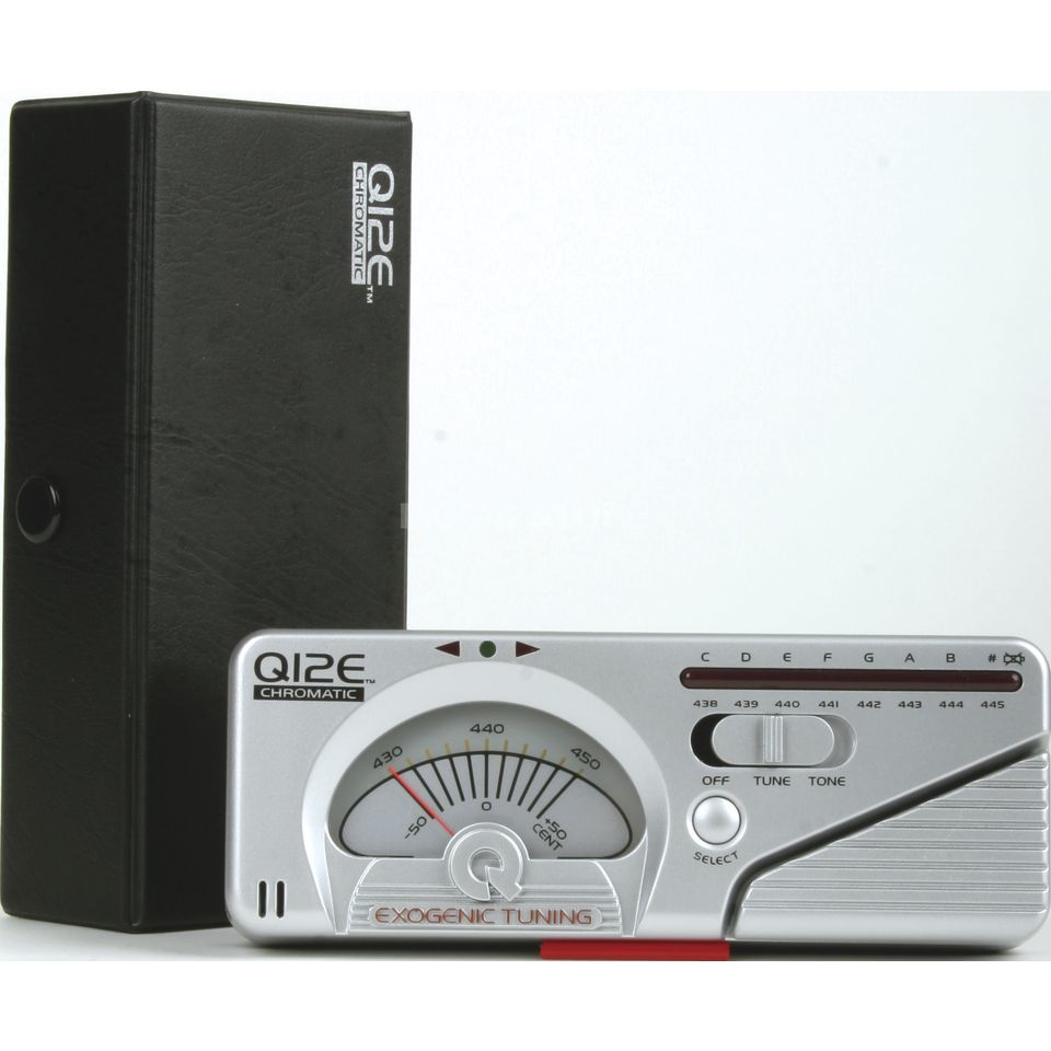 Qwik Tune/Time QT 12 E, Tuner Bass/Guit. chromatic, Analog-Display Produktbillede
