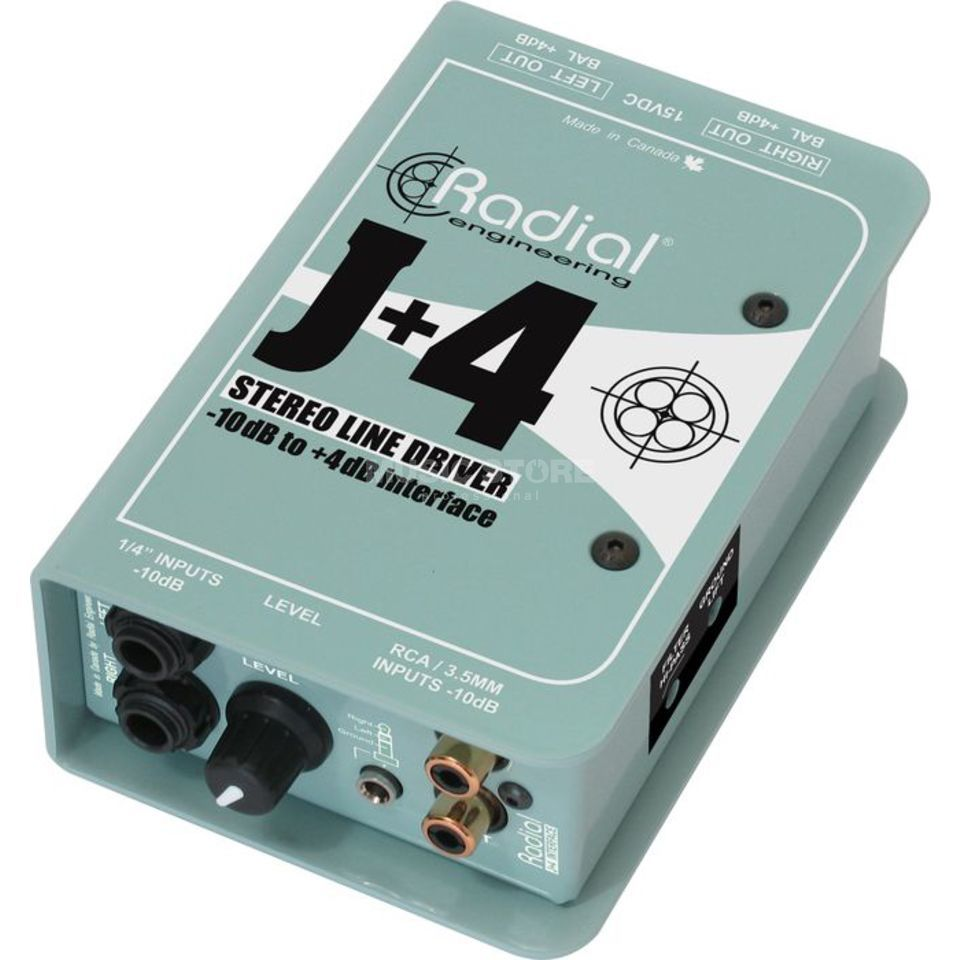 Radial J+4 DI Box Product Image