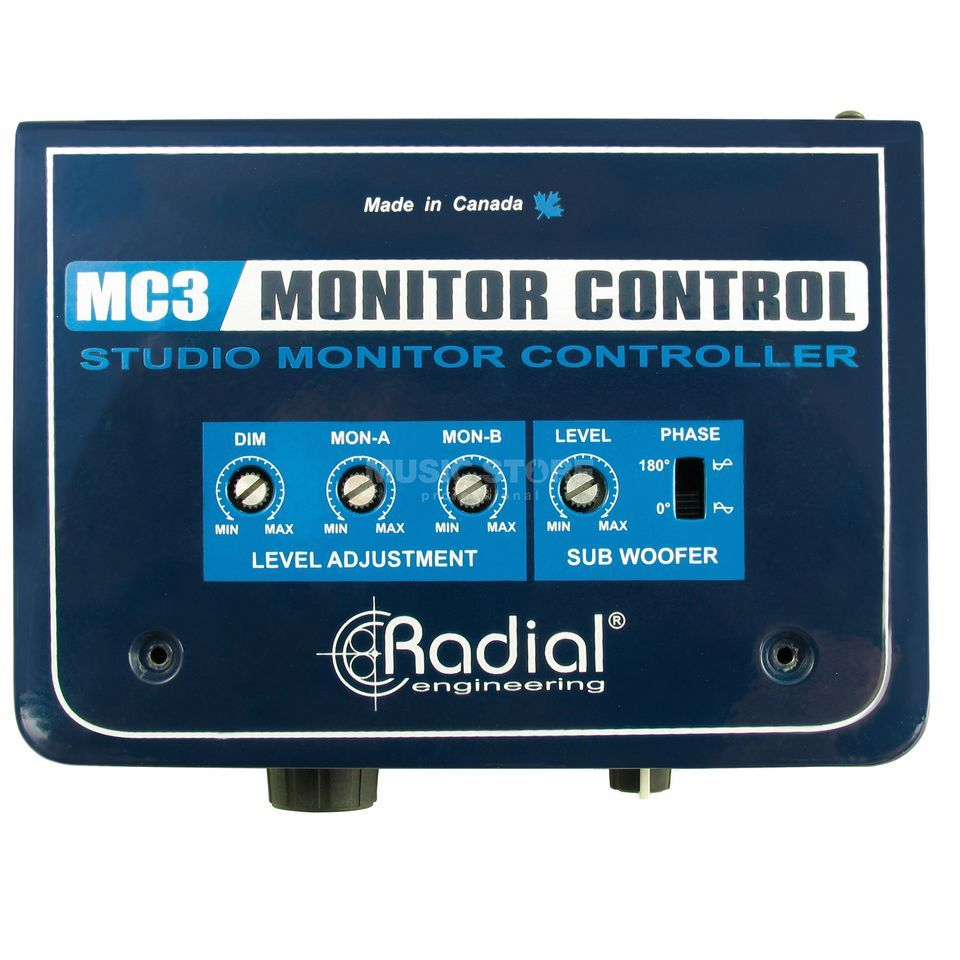 Radial MC3 Studio Monitor Controller    Product Image