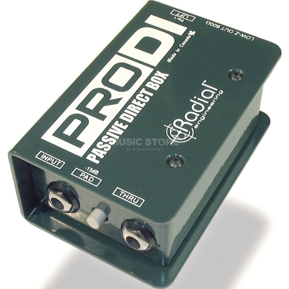 Radial Pro-DI Full Range Passive Mono Direct Box Product Image